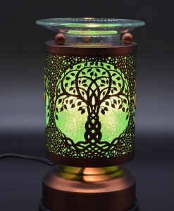 Tree of Life Copper Touch Warmer - green