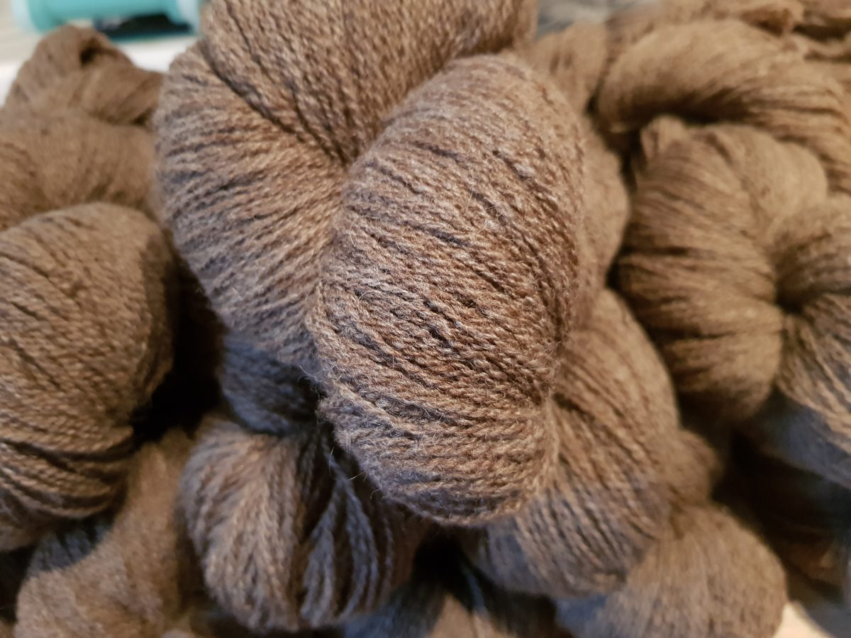 Hawkshaw Sheep Brown Yarn