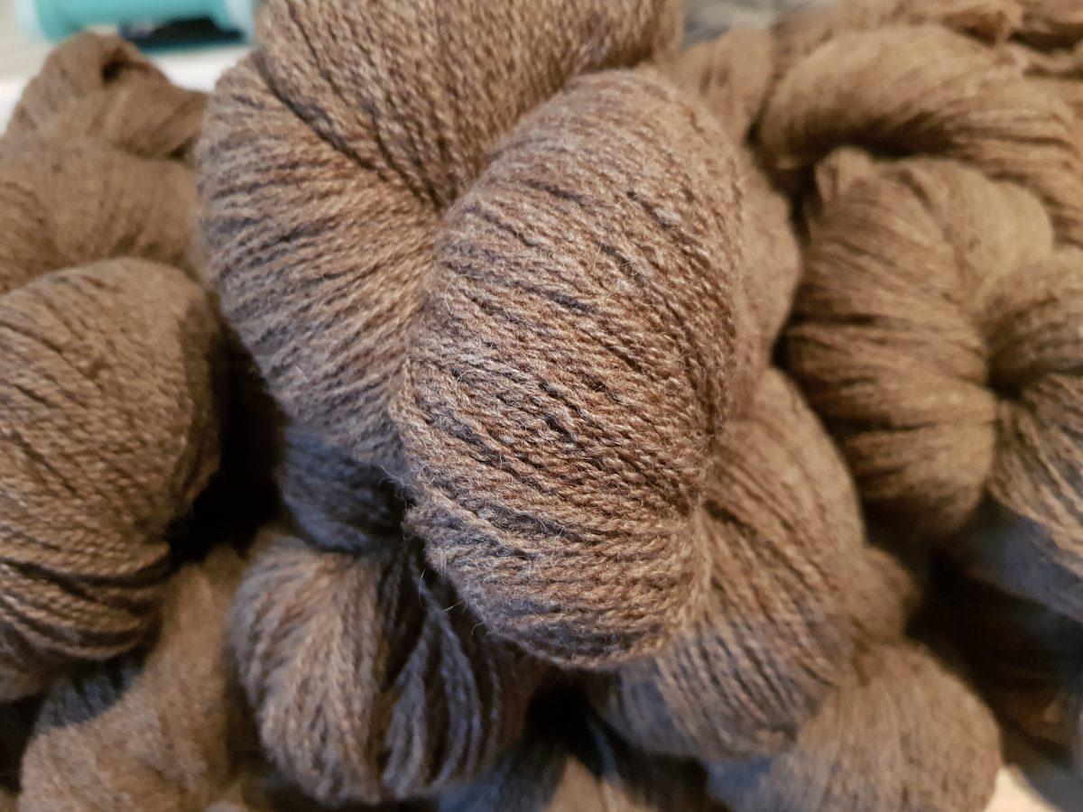 Hawkshaw Sheep Brown Yarn