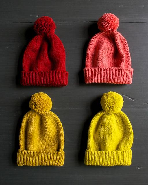 Classic Cuffed Hat Purl Soho