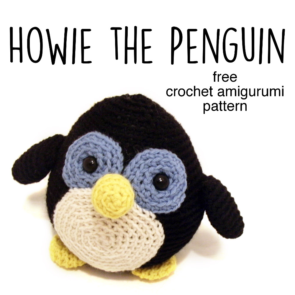medium resolution of howie the penguin gree crochet amigurumi pattern from shiny happy world and freshstitches