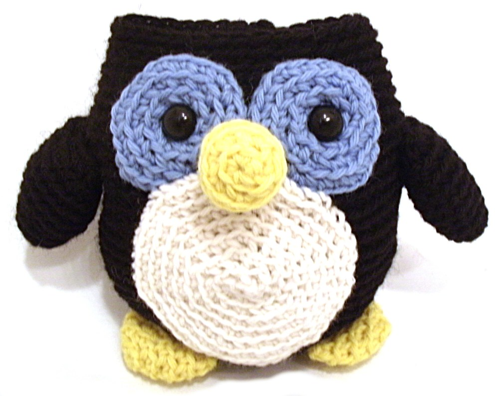medium resolution of howie the penguin free crochet amigurumi pattern from shiny happy world and freshstitches