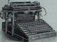 beautiful typewriter