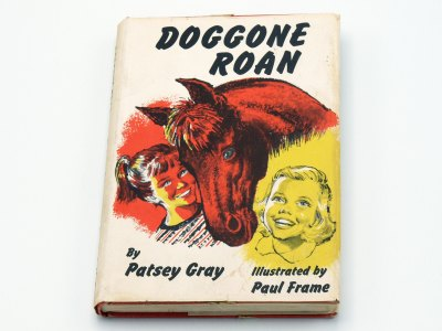 Doggone Roan - front and bottom edge