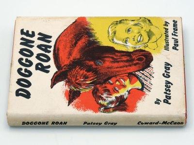 Doggone Roan - Patsey Gray - spine