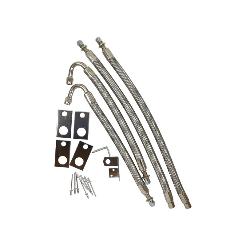 Wheel Master 4 Hose Flexible Extension Kit for Chevrolet