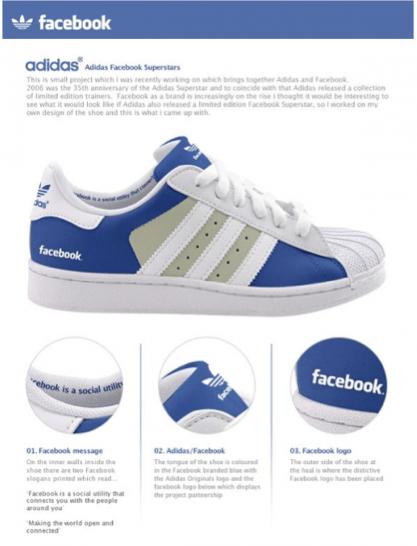 Facebook shoe