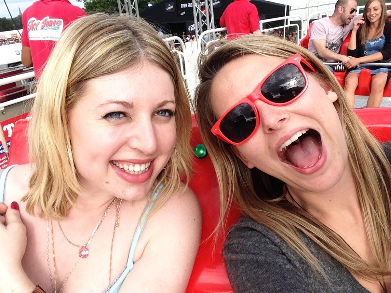 We loved the rides at V Festival