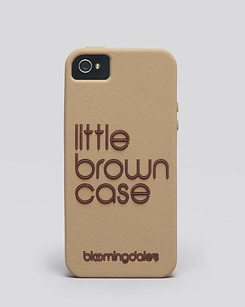 Bloomingdale's little brown iPhone case – £23.70