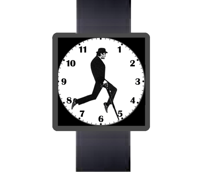 Ministry of Silly Walks theme for Android Wear