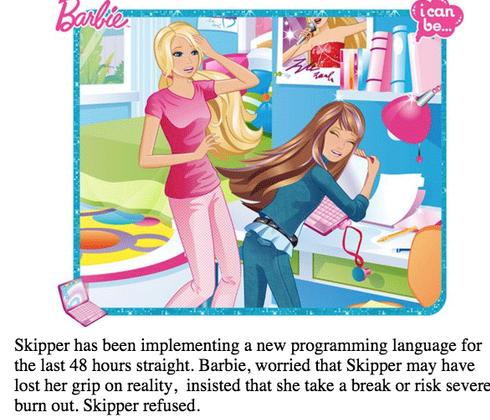 Barbie-Skipper