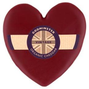 Godminster cheese heart