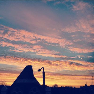 Photo of sunset sky