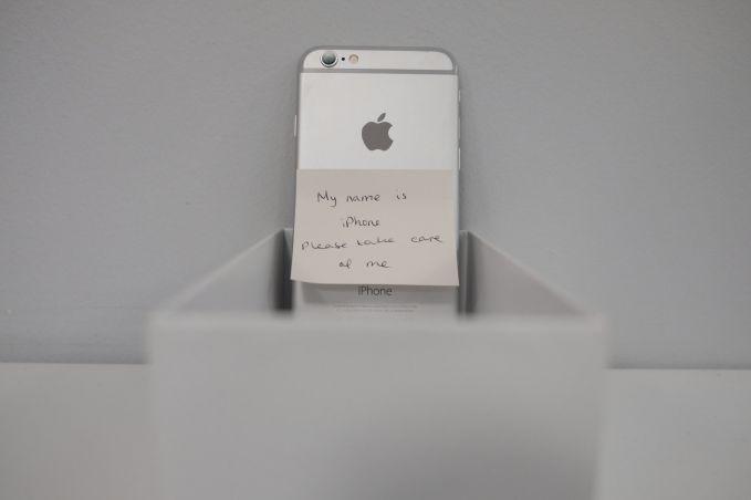 iphone orphan
