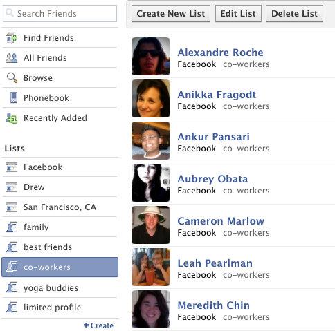 facebook-friends-lists
