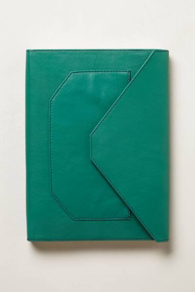 Anthropologie leather journal