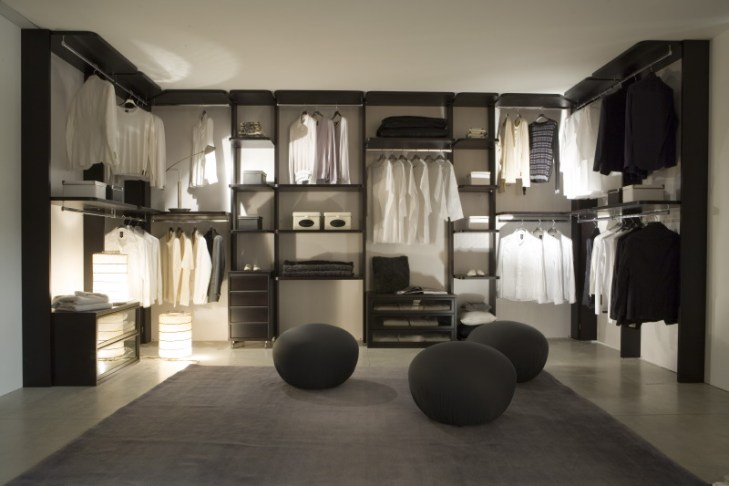 Wardrobe in bedroom