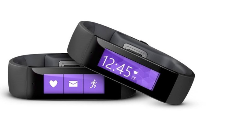 The Microsoft Band will be availble from April, but you can pre-order now.