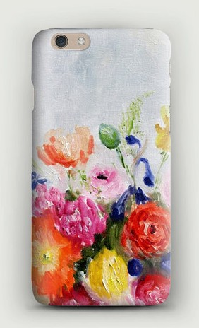 Katie Jobling painted iPhone 6 Plus Case