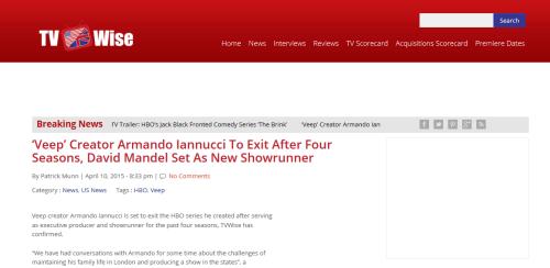 Interesting websites: TV Wise.