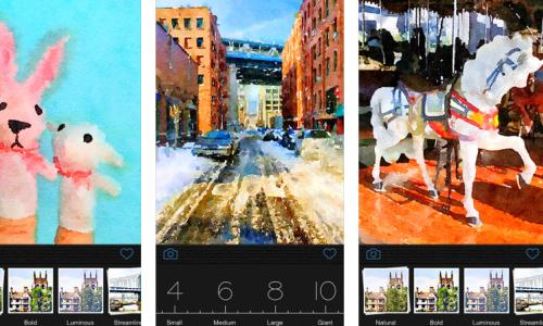 iPad photo editing apps: Waterlogue.