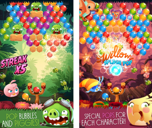New iPhone games: Angry Birds Stella POP!