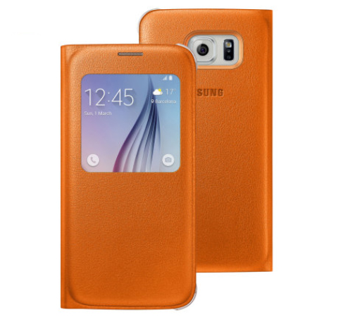 S View Premium Official Samsung Galaxy S6 case.