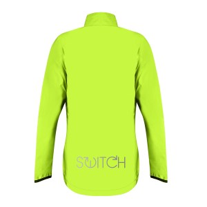 S2 Switch Womens Jacket Back Yellow LR