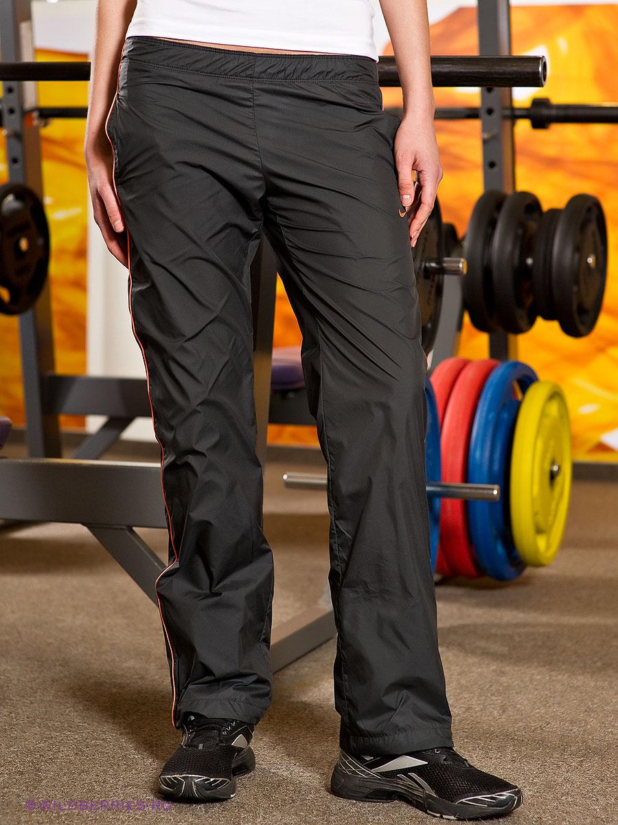 Nike Nylon Taffetta Pants Side Piping Front View
