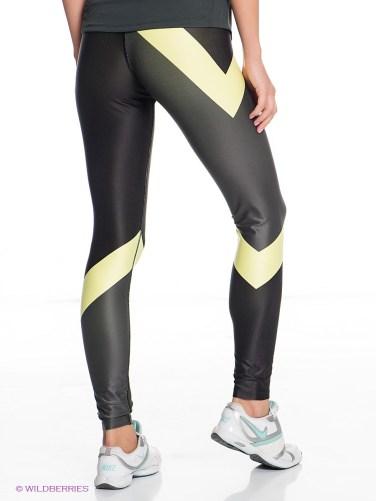 Nike Shiny Leggings Back View