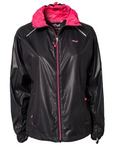 Rohnisch Alba Running Jacket in Black Product View