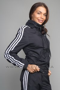 Black Women's Adidas Tracksuit