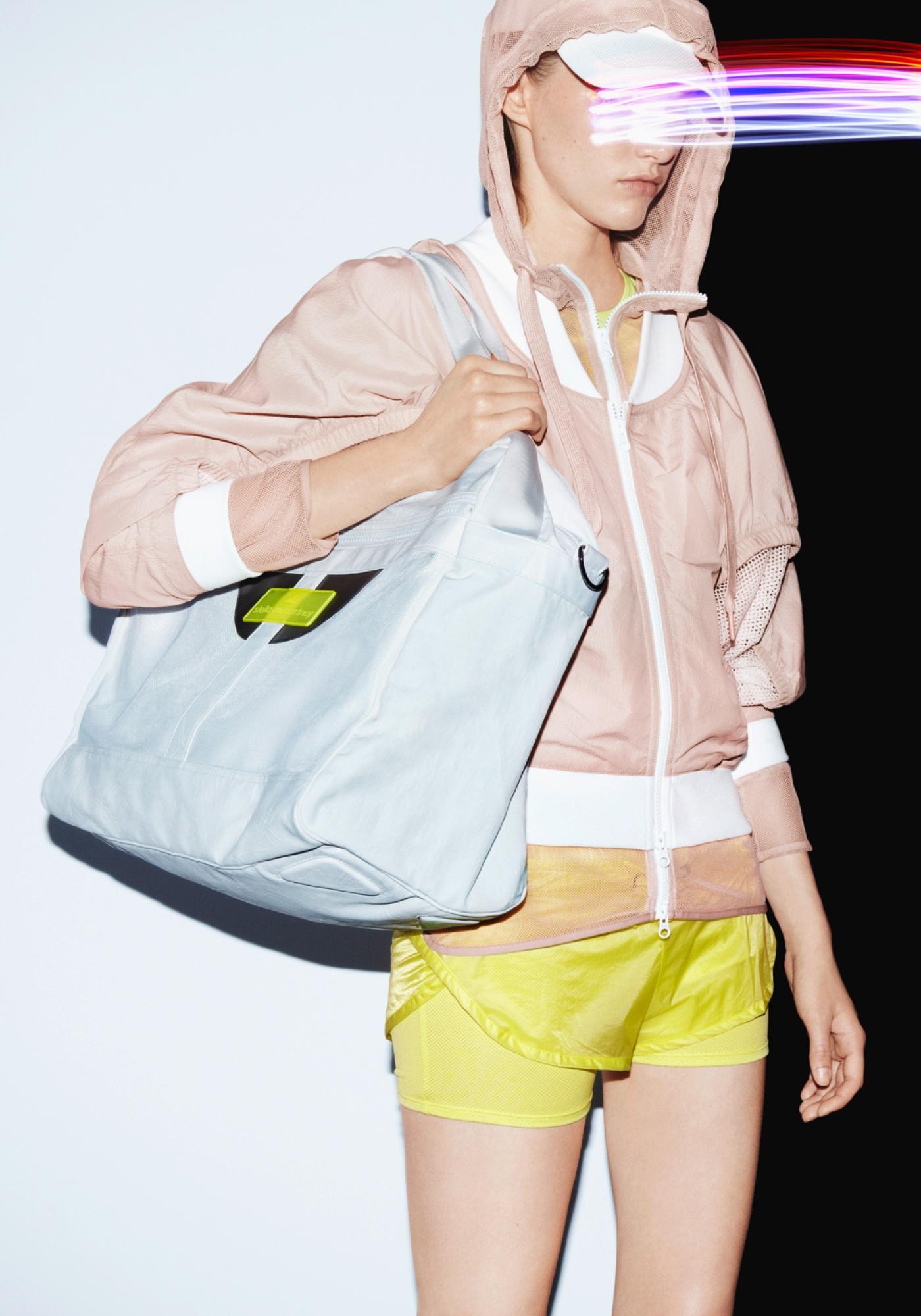 Adidas Stella McCartney Yellow Shorts