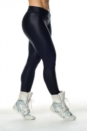 Shiny Workout Tights Side View