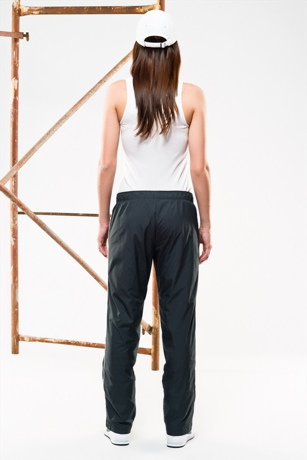 Nike Nylon Taffeta Pants Back Navy