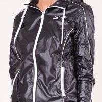 Women's Shiny Black Puma Jacket