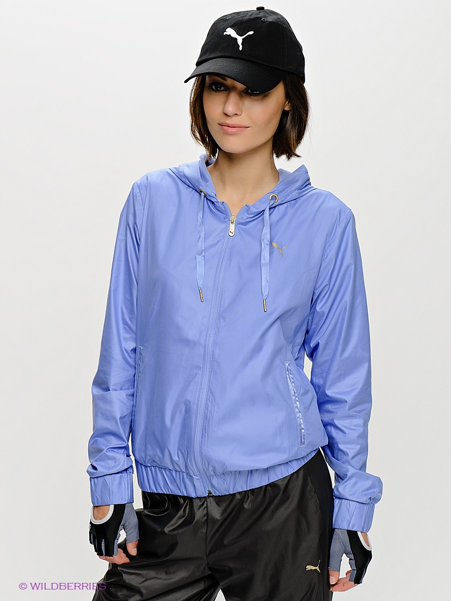 Women's Puma Tracksuit Jacket Front View