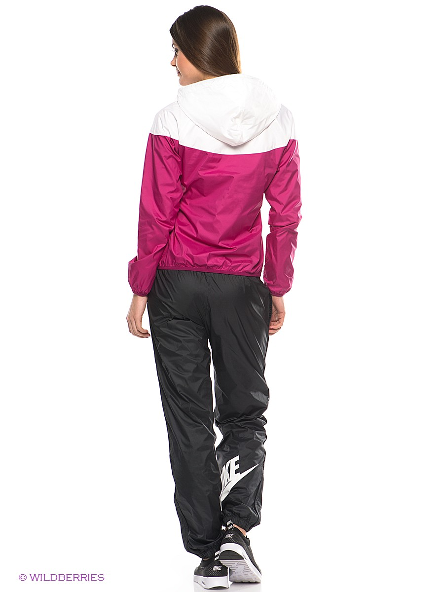 Pink Women's Nike Tracksuit Rear VIew