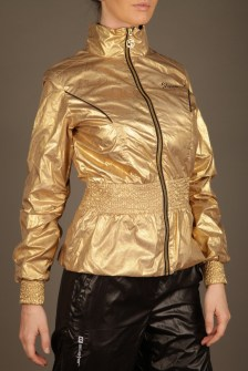 Black and Gold Stayer Tracksuit 4