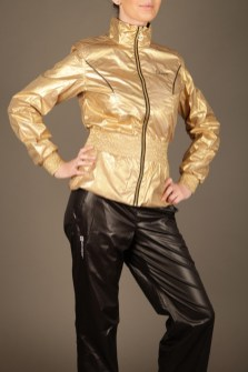 Black and Gold Stayer Tracksuit 5
