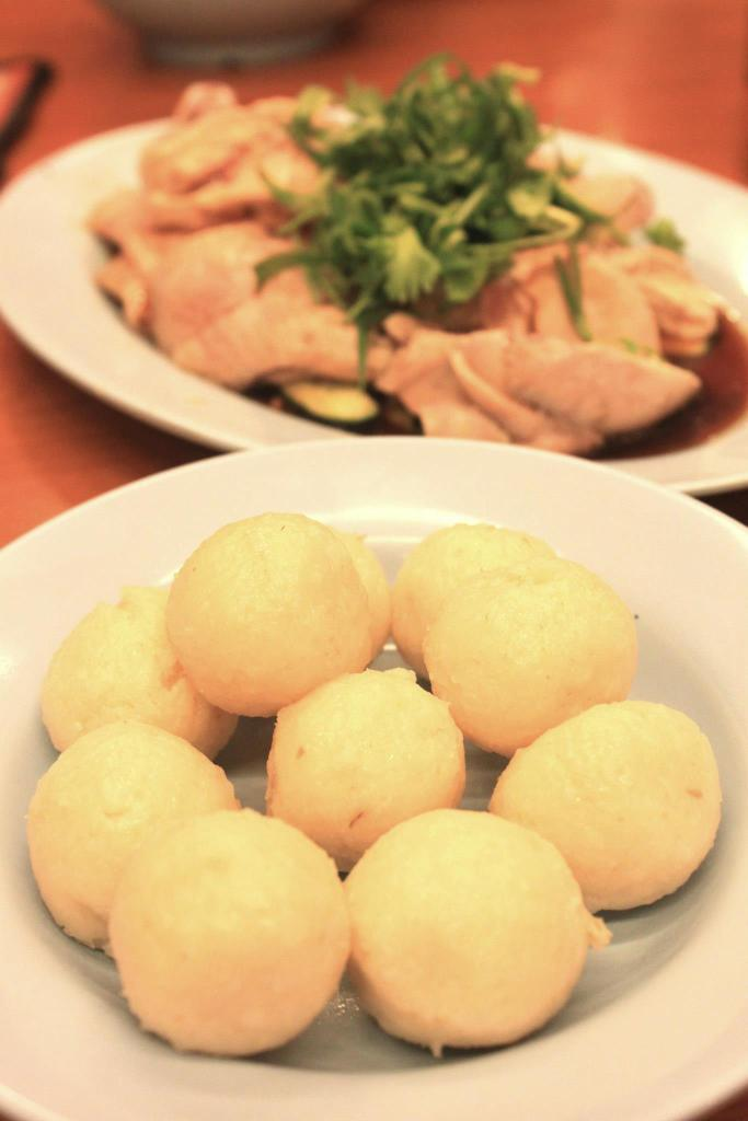gu cheng chicken rice ball