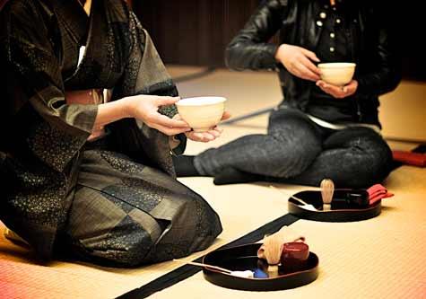 Resultado de imagen de Ceremonia del té en japón