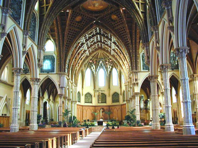 Interior of Holy Name Cathedral, Chicago