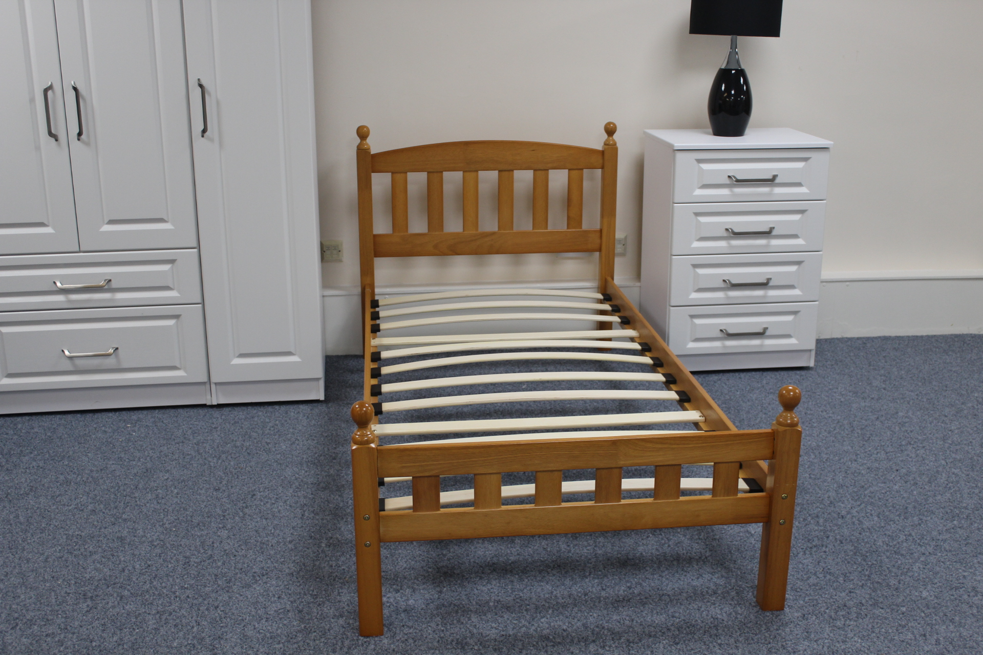 wooden chair frames for upholstery uk bobs furniture recliner pine bed frame  shipcote