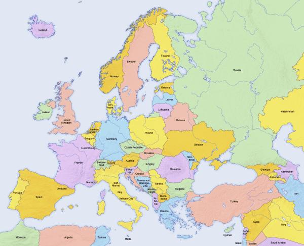 Mediterranean Port Call Maps