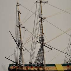 Uss Constitution Rigging Diagram 4 Wire Trailer Lights S G Ships In Bottles
