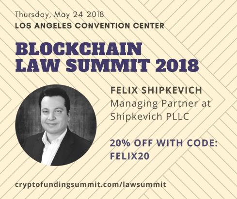 Felix Shipkevich ICO Lawyer