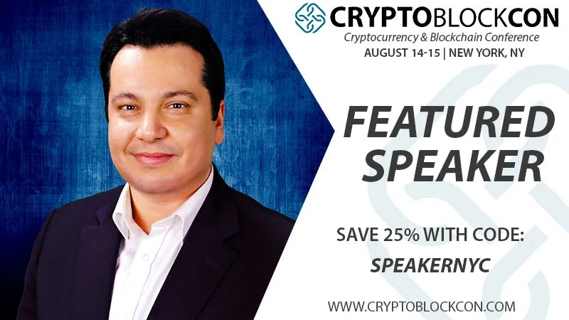 Felix Shipkevich - CryptoBlockCon Featured ICO lawyer Speaker - Discount