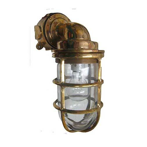 Bronze 90 Degree Passageway Dock Light