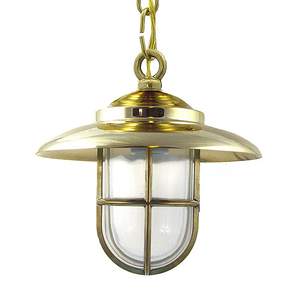 Solid Brass Nautical Pendant (C-1) by Shiplights